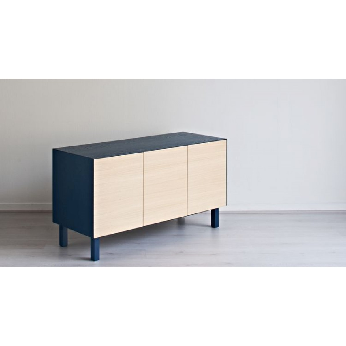 Cubo sideboard 3 doors by another brand for Sideboard petrol