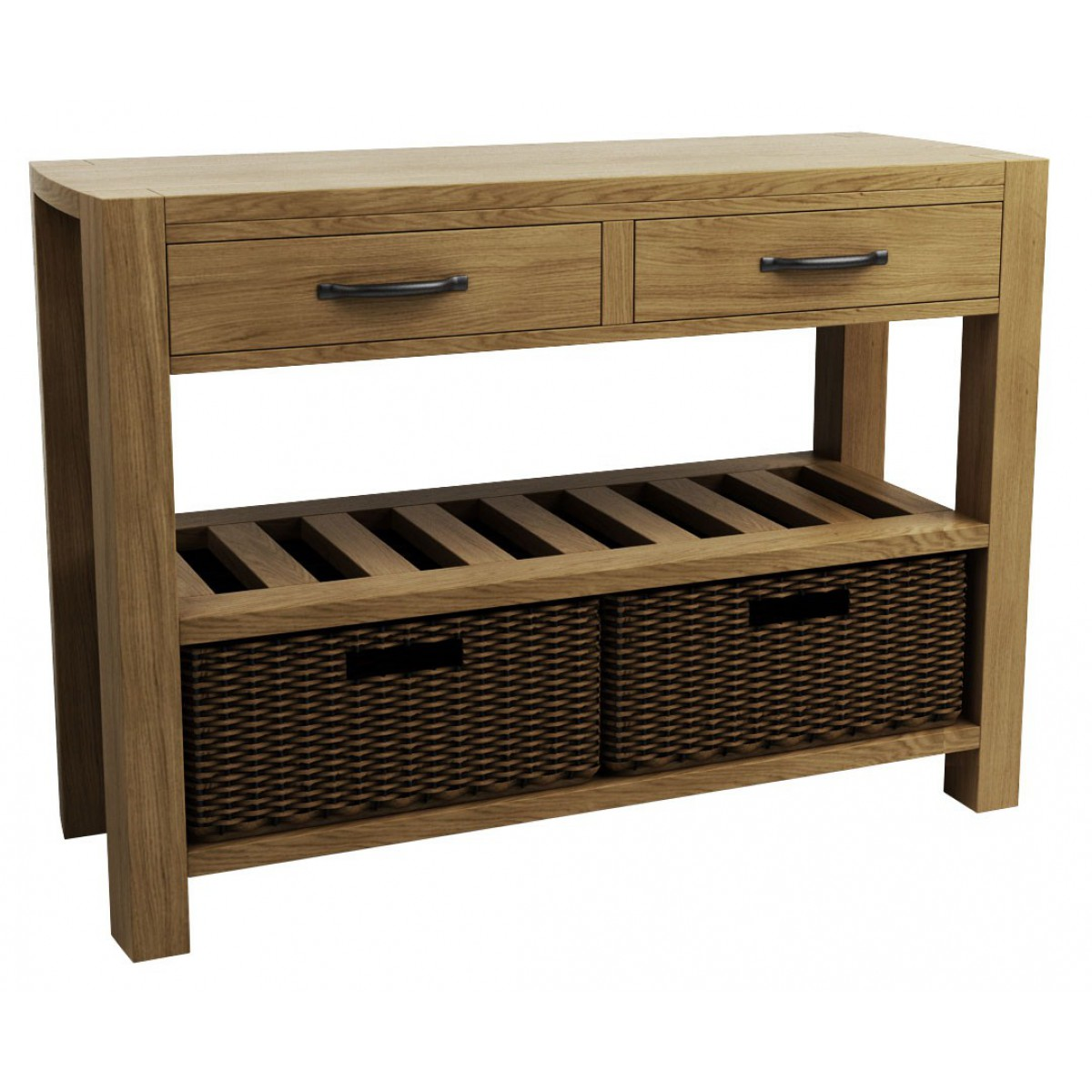 Goliath double basket console table - Goliath console table ...