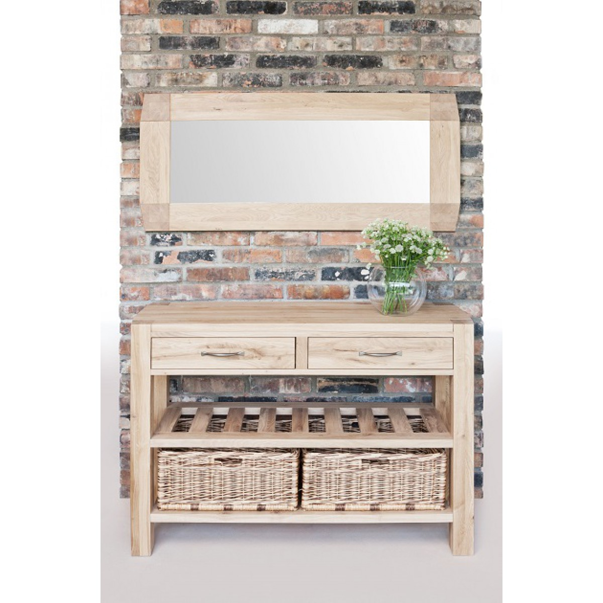Double basket console table goliath double basket console table geotapseo Gallery