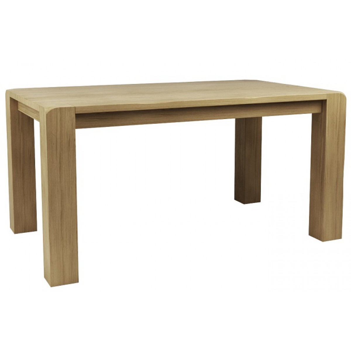 Vermont dining table vermont acacia extending 160cm for Table queens acacia