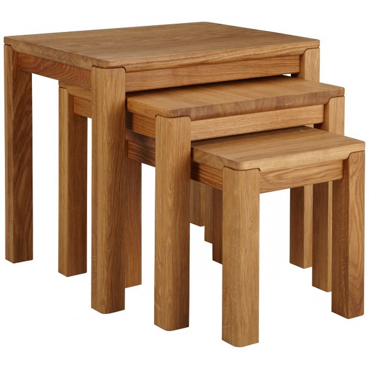 soho nest of 3 tables. Black Bedroom Furniture Sets. Home Design Ideas