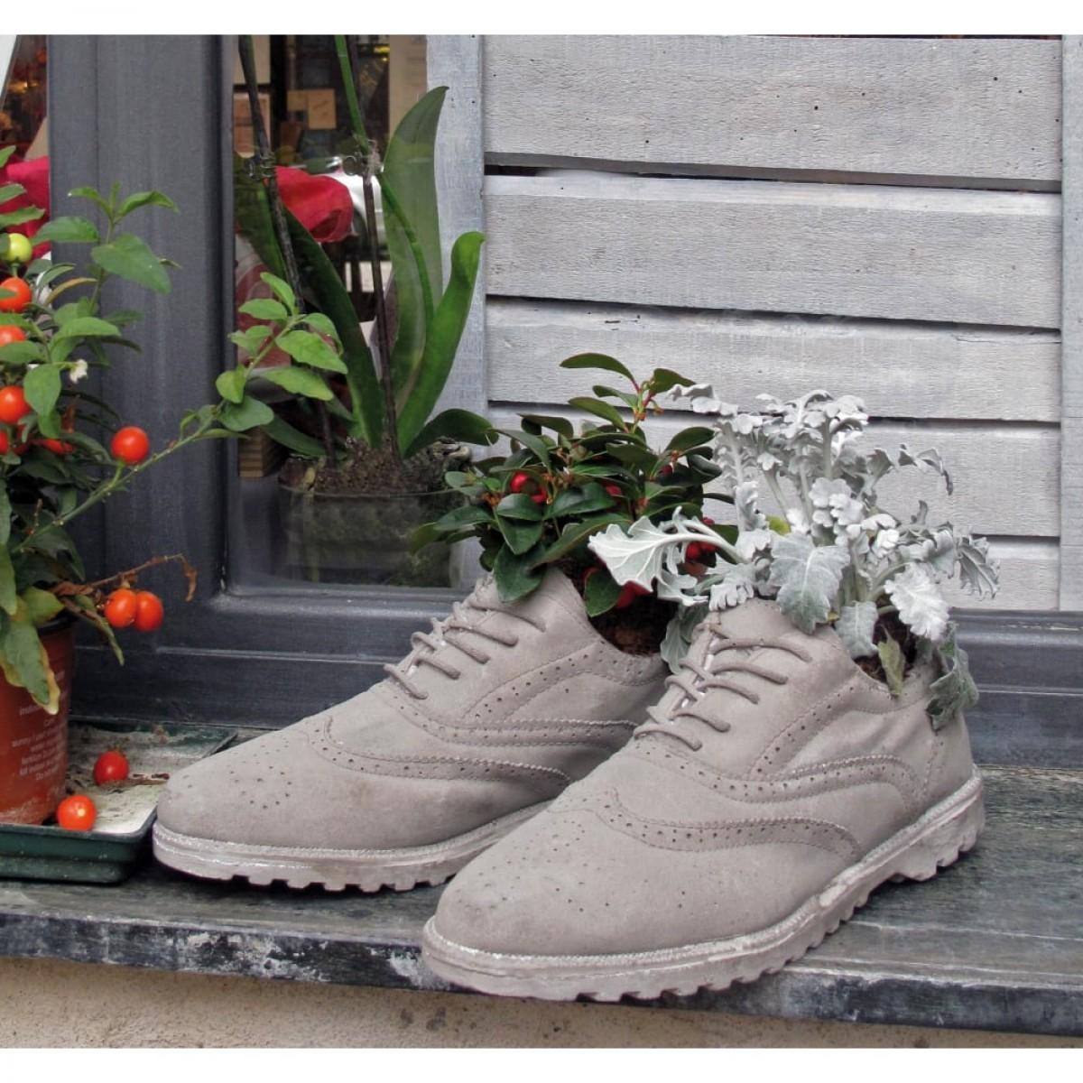 Concrete Planter #Shoes