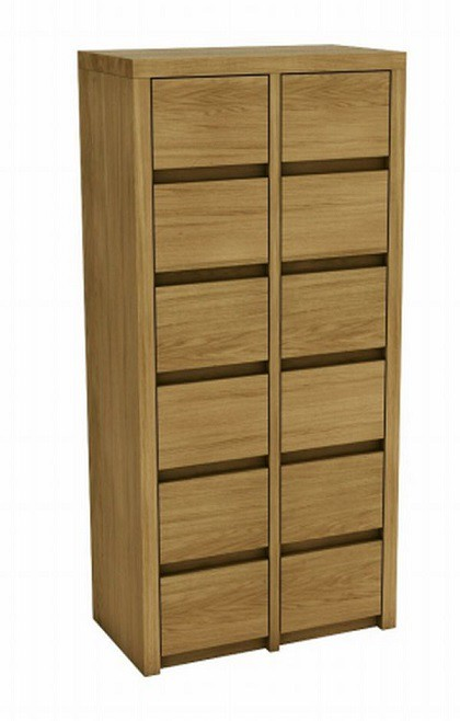 12 Drawer Tallboy