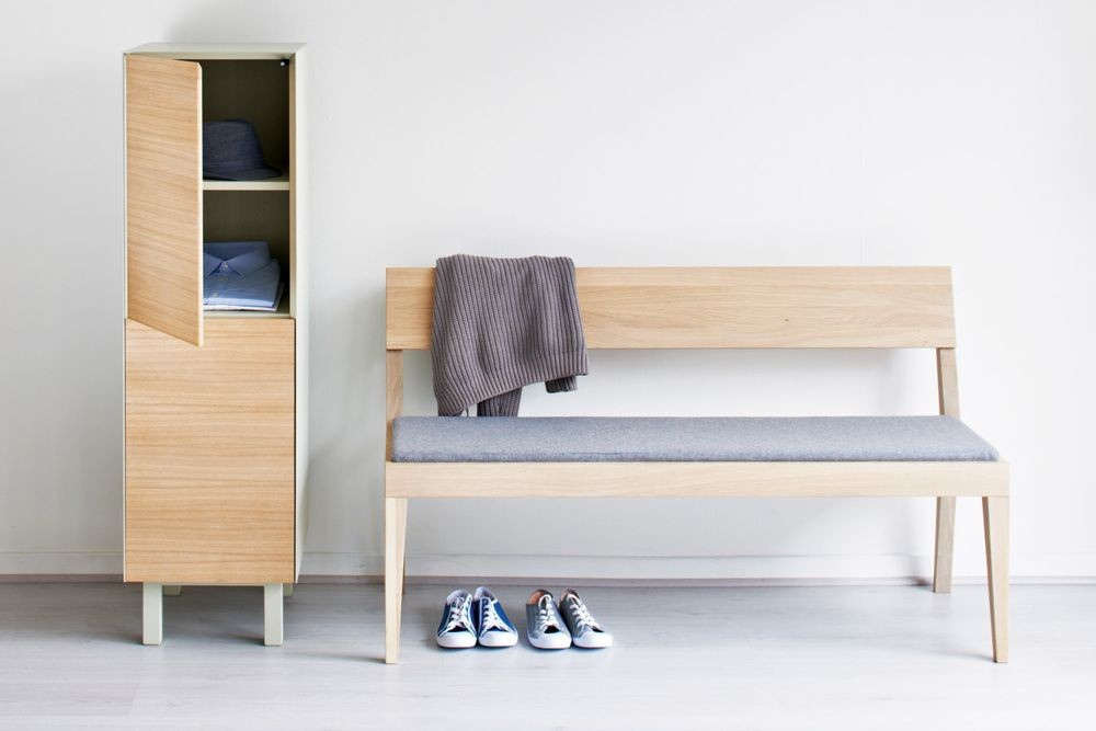 Cubo Bench  Upholstered Seat by Another Brand