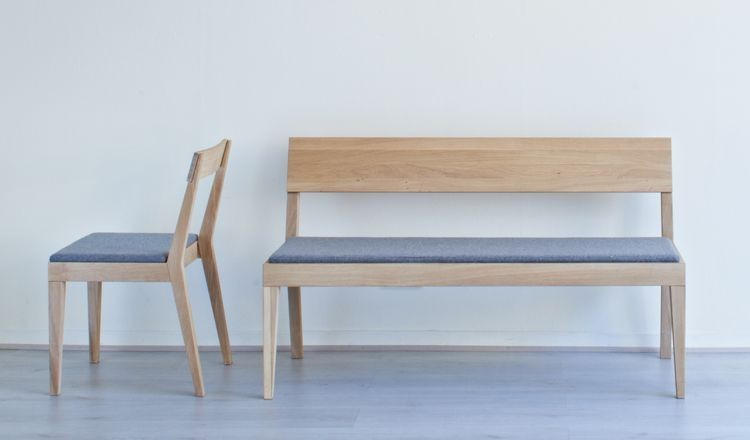 Cubo Chair  Upholstered Seat by Another Brand