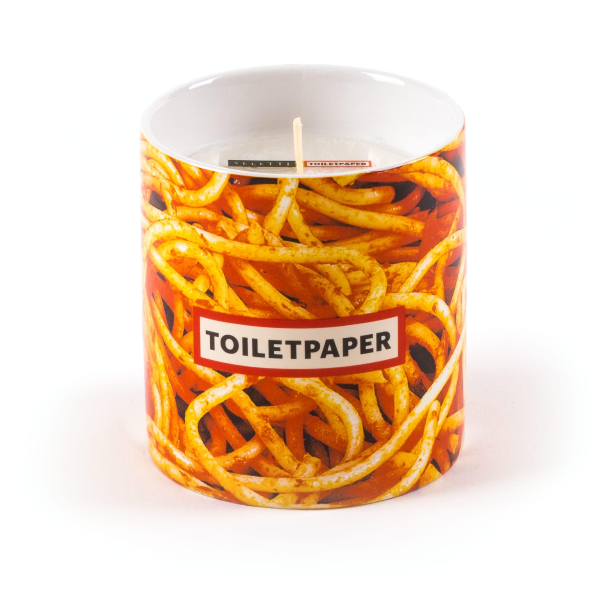 Toiletpaper Candle Spaghetti
