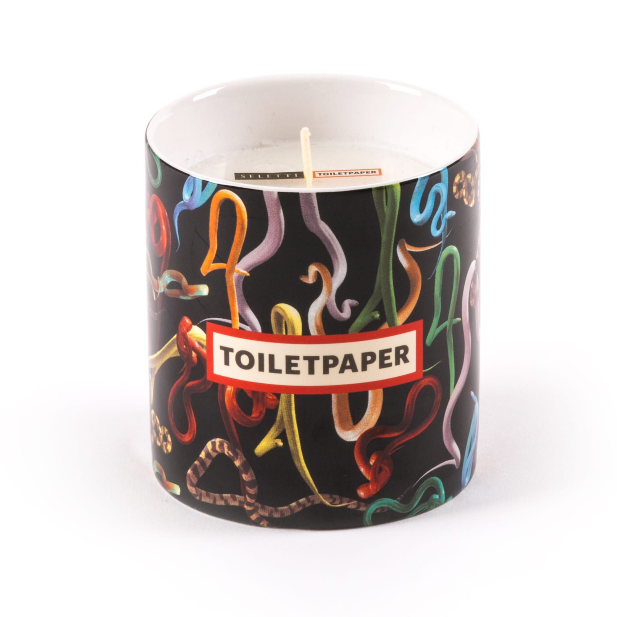 Toiletpaper Candle Snakes