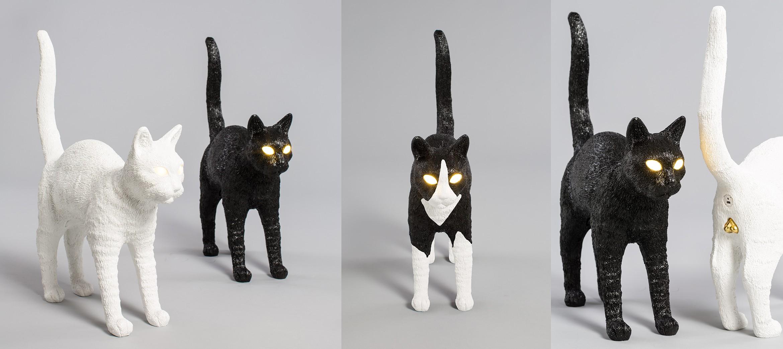 Jobby The Cat Black & White