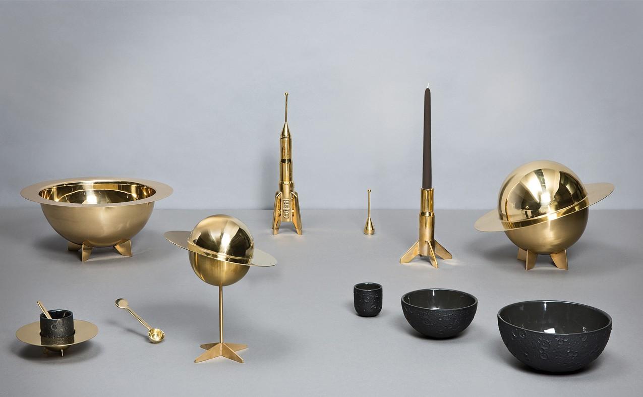 Cosmic Diner Lunar Coffee Cups