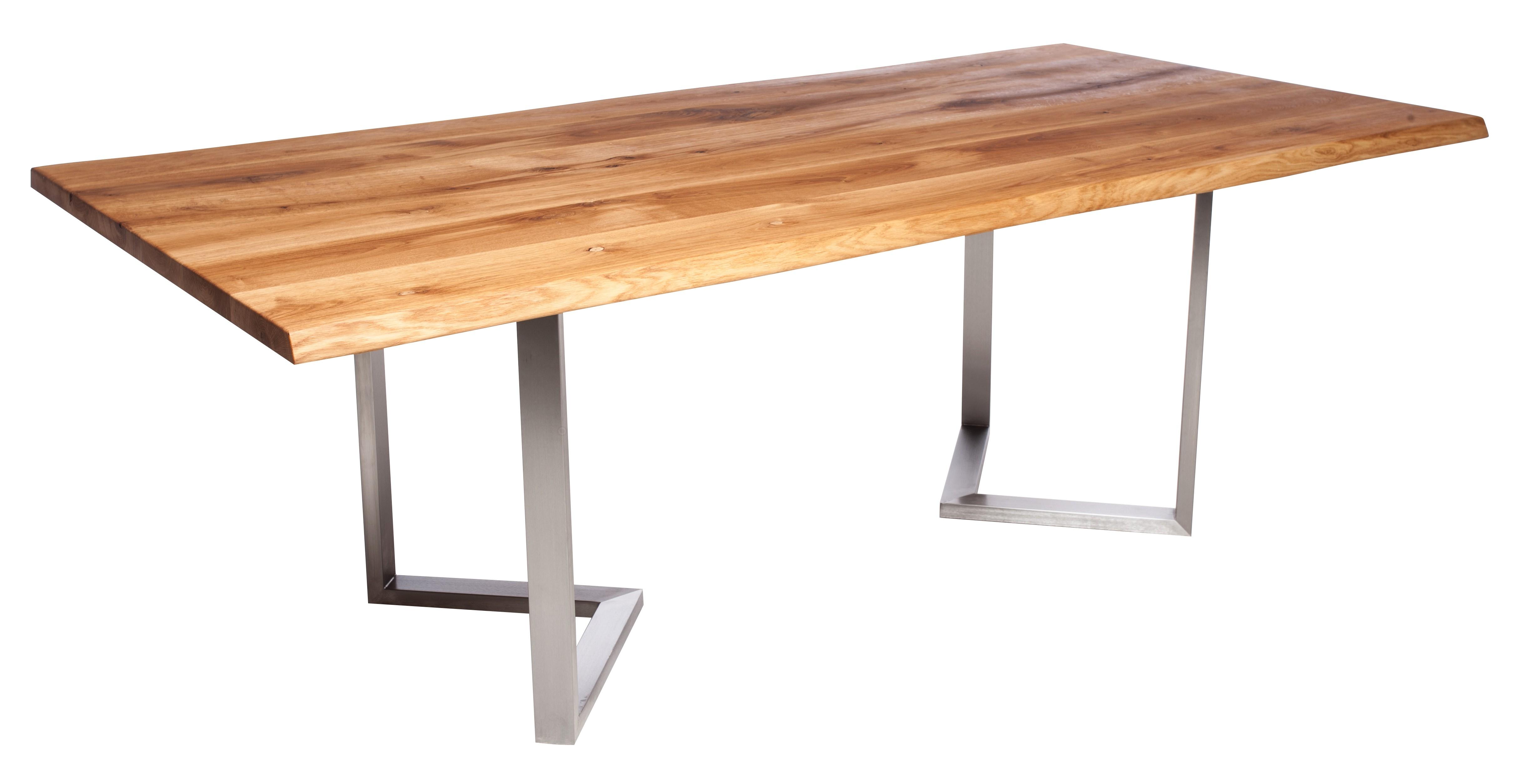Fargo Oak Dining Table with M-shape leg 3x6cm - Dining Tables ...