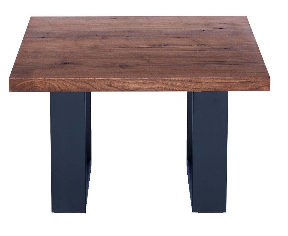 Fargo Walnut Coffee Table with U-shape leg 4x10cm