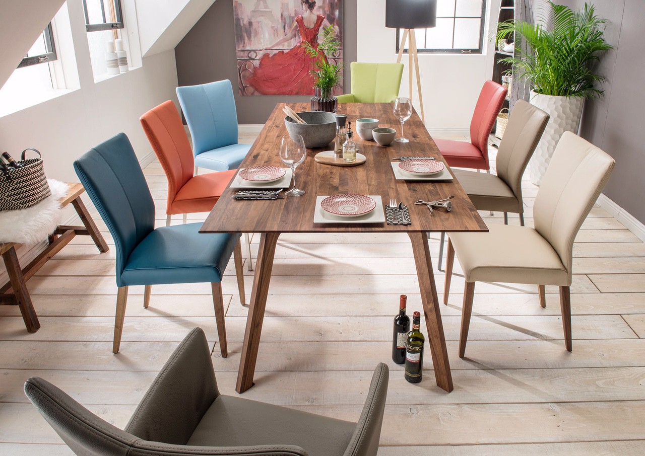 Madeira Walnut Dining Table