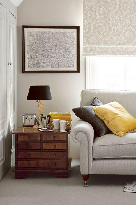 Garrat Dark Chestnut 6 Drawer Side Table