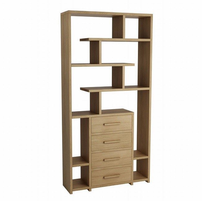 Hercus Bookcase 4 Drawers