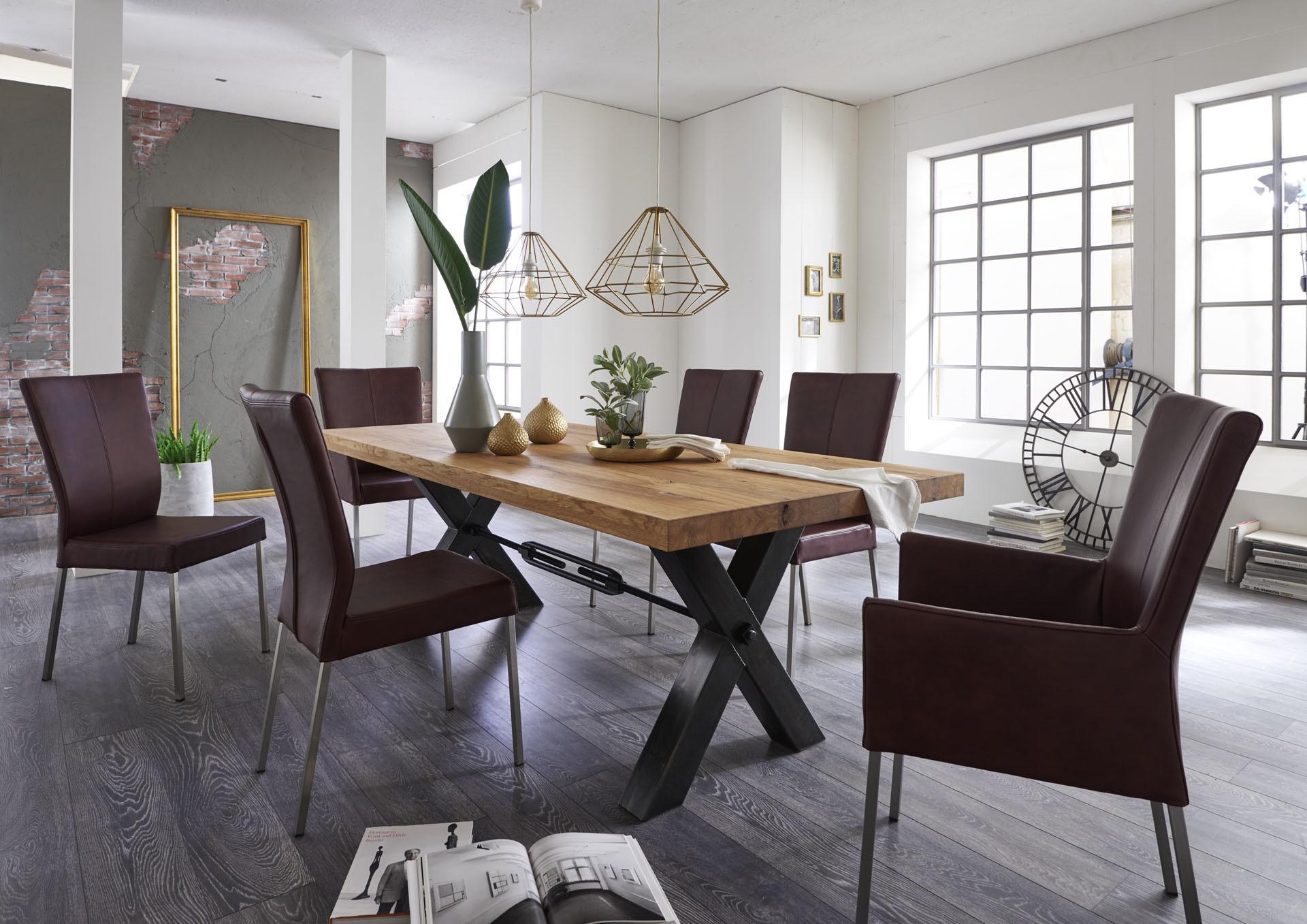 Quantum Oak Dining Table