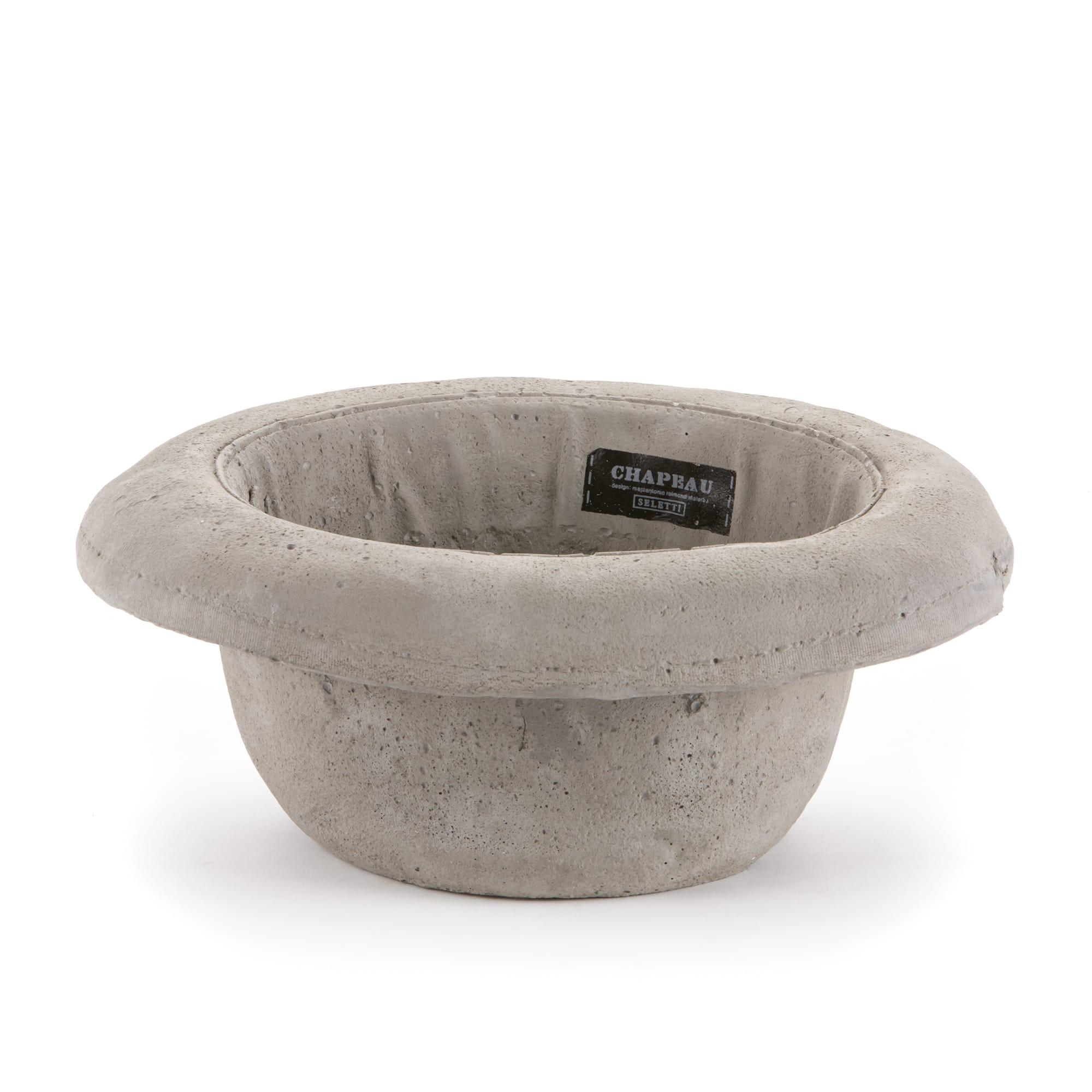 Concrete Hat Planter #Bombetta