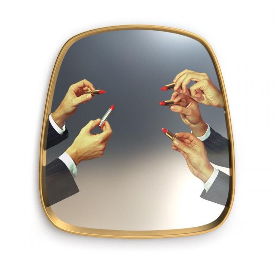 Mirror Gold Frame Lipsticks