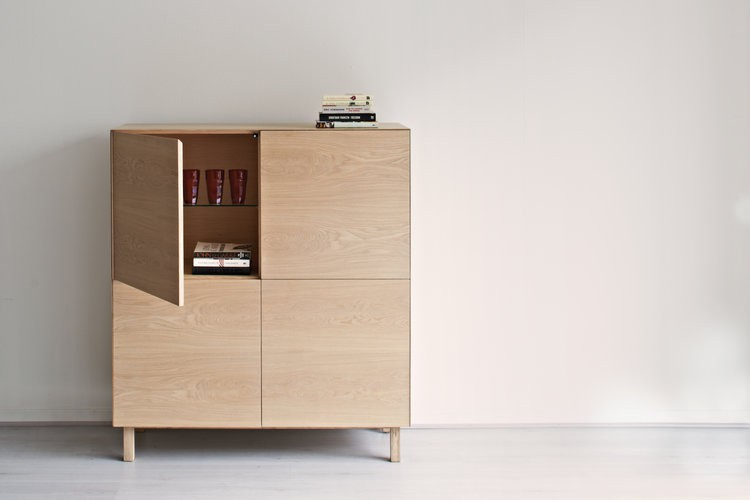 Cubo Square Cabinet  4 Doors By Another Brand
