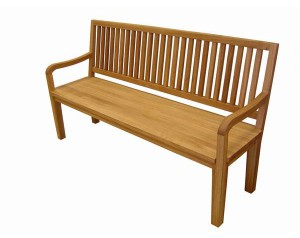 Bench with a Back