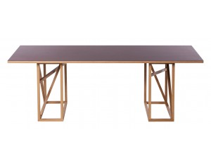 1x1 Linoleum Trestle Dining table