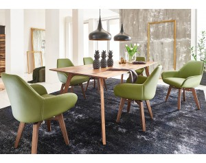 Madeira Oak Dining Table