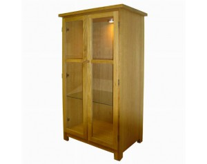 Uptown Glass Cabinet