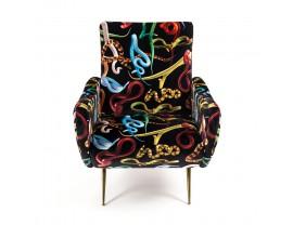 Toiletpaper Snake Armchair