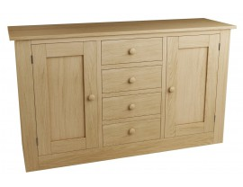 Eclipse 2 Door 4 Drawer Sideboard