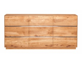 Fargo Oak 3 Door Sideboard