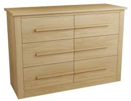 Eclipse 3 and 3 Chest of Drawers