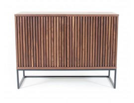 Timo 2 Door Sideboard With Slatted Front