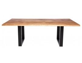 Fargo Oak Dining Table with U-shape leg 4x10cm