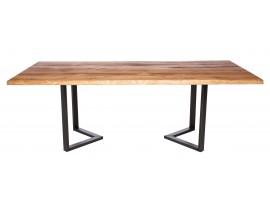 Fargo Oak Dining Table with M-shape leg 3x6cm