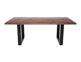 Fargo Walnut Dining Table with U-shape leg 4x10cm
