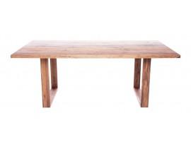 Fargo Oak Dining Table with U-shape wooden leg 4x10 cm