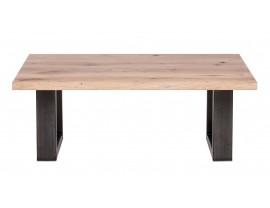 Fargo Oak Coffee Table with U-shape leg 4x10cm