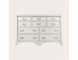 Clifton Dove Grey 6+4 Drawer Chest