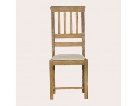 Milton Oak Pair Of Dining Chairs