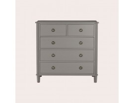 Henshaw Pale Charcoal 2+3 Drawer Chest