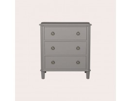 Henshaw Pale Charcoal 3 Drawer Chest