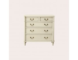 Clifton Ivory 2+3 Drawer Chest
