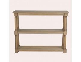 Wellington Oak Low Bookcase