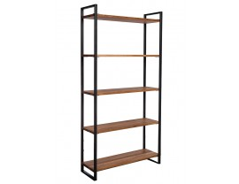 Hamilton Oak Tall Shelving Unit