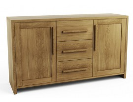 Hercus 2 Door 3 Drawer Sideboard