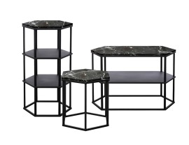 Favo Marble Tables by Another Brand