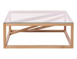 1x1 GlassTrestle Coffee table