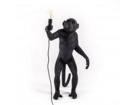 Monkey Lamp Standing Black