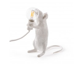 Mouse Lamp Standing White