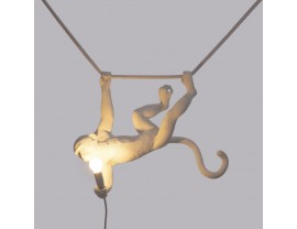 Monkey Lamp Swing White
