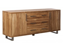 Quantum Oak Grand 2 Door and 3 Drawers Sideboard